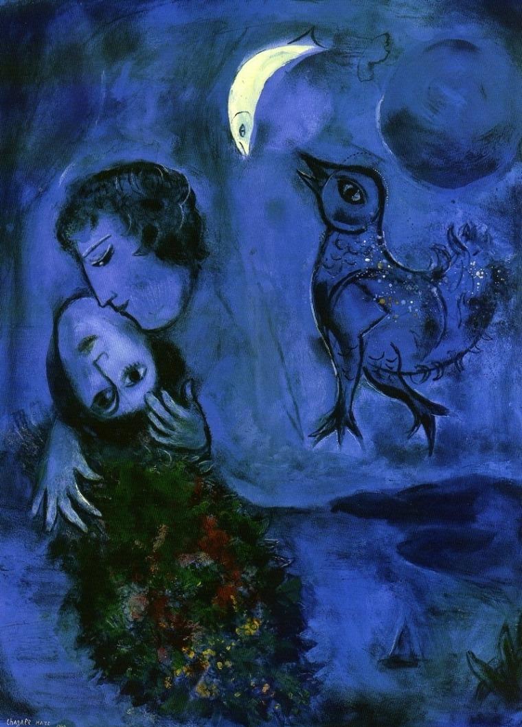 Marc Chagall, Paysage Bleu (1949)