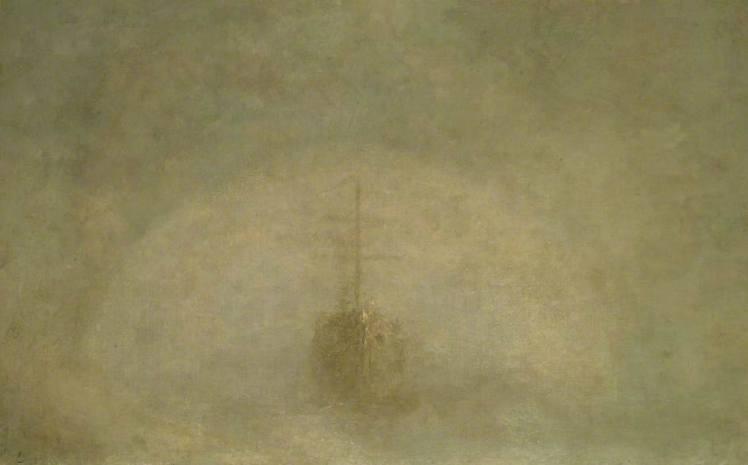 George Frederick Watts, A Sea Ghost , 1887
