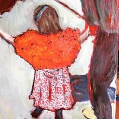 Detail from Vuillard painting