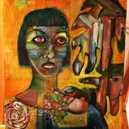 Gauguin Was a Monstera (SOLD 2019)